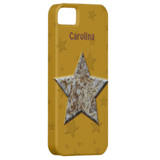Wood Chips Star for Wood Turners Workers iphone 5 iPhone SE/5/5s Case