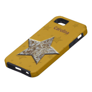 Wood Chips Star Wood Turners or Workers iphone 5 iPhone SE/5/5s Case