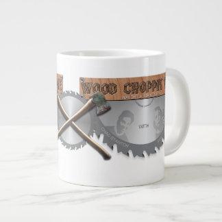 Wood Choppin' Time Logo Jumbo Mug