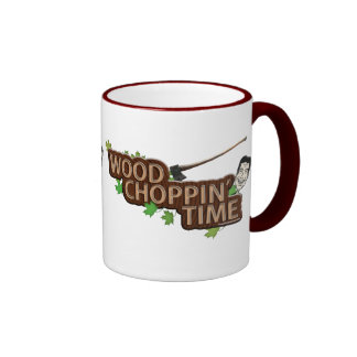 Wood Choppin' Time Stump Mug