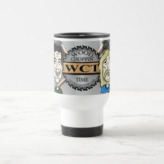 Wood Choppin' Time Travel Mug