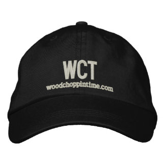 Wood Choppin' Time (WCT) Hat Embroidered Baseball Cap