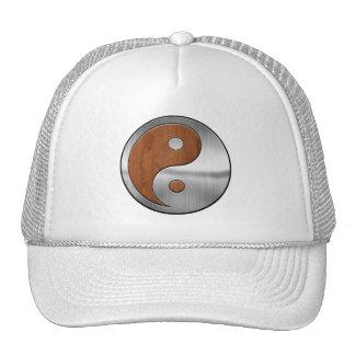 Wood Chrome Yang Trucker Hat