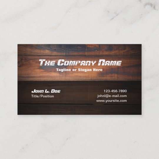 Wood construction business card zazzle wood construction business card reheart Gallery