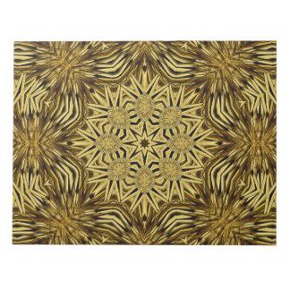 Wood Craft Mandala Notepad