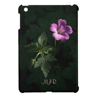 Wood Cranes Bill, Woodland Flowers in Pink iPad Mini Case