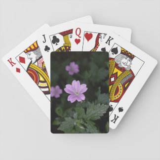 Wood Cranesbill Playing Cards