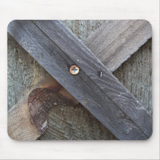 Wood Cross gifts imaginative imagery gift idea Mouse Pad