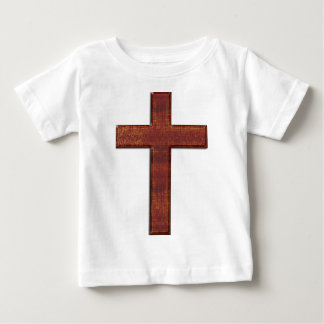 Wood Cross Glyph Baby T-Shirt