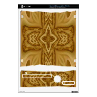 Wood Cross Pattern Decals For The Xbox 360 S