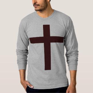 Wood cross shirt
