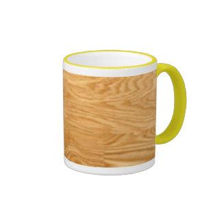 Wood Cup Design Mugs