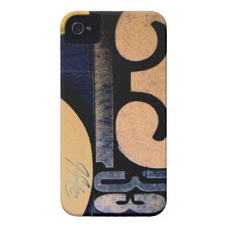 Wood Cut 53 iPhone 4 Case