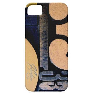 Wood Cut 53 iPhone SE/5/5s Case
