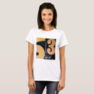 Wood Cut 53 Ladies Light T-Shirt
