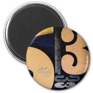 Wood Cut 53 Magnet