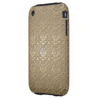 Wood Damask Tough iPhone 3 Covers
