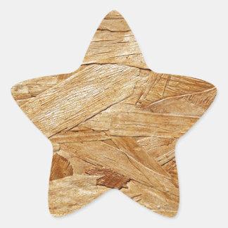 Wood Design Sticker