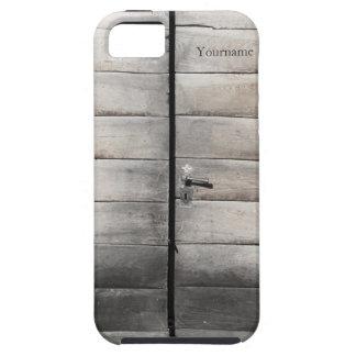 Wood Door iPhone 5 Case