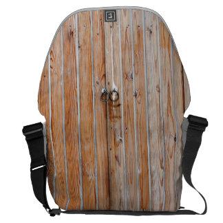 Wood Door Messenger Bag