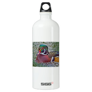 Wood Duck Aluminum Water Bottle