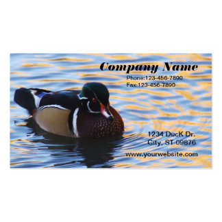 Wood Duck Business Card