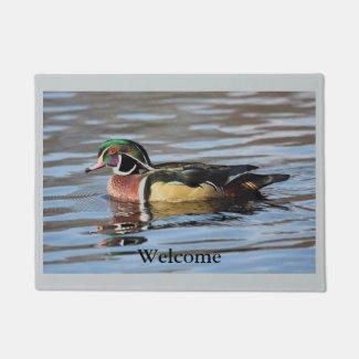 Wood Duck Doormat