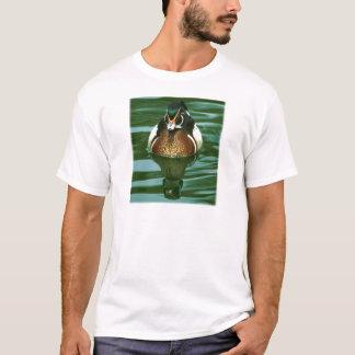 Wood Duck Drake Photograph T-Shirt