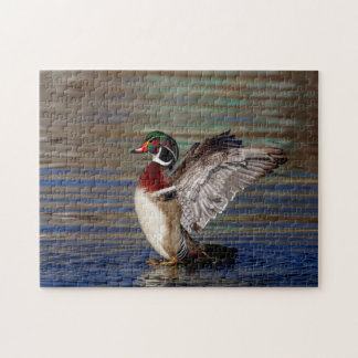 Wood Duck Jigsaw Puzzle