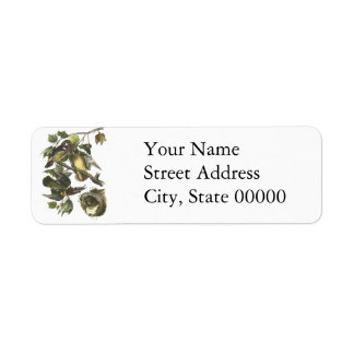 Wood Duck, John Audubon Return Address Labels