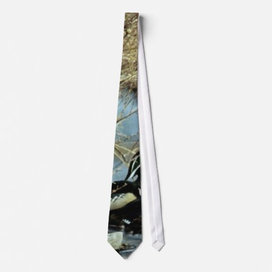 Wood Duck Pair Neck Tie