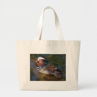 Wood Duck With An Ankle Braclet Jumbo Tote Bag