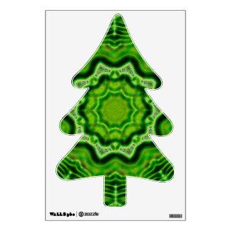 WOOD Element fir tree wall decal
