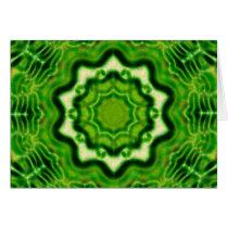 WOOD Element kaleido pattern