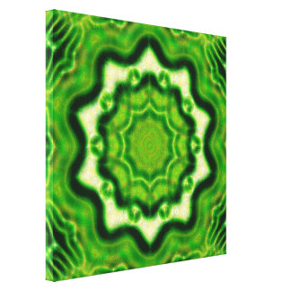 WOOD Element Kaleido Pattern Canvas Print