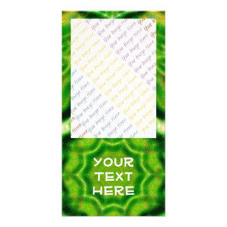 WOOD Element kaleido pattern Card