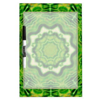 WOOD Element kaleido pattern Dry Erase Board