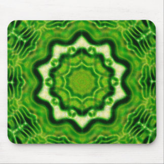 WOOD Element kaleido pattern Mouse Pad