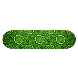 WOOD Element kaleido pattern Skateboard