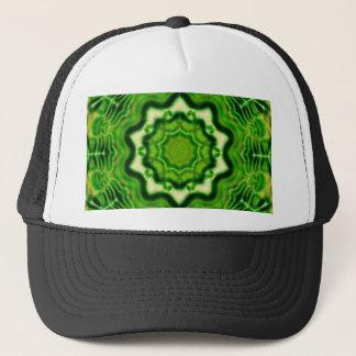 WOOD Element kaleido pattern Trucker Hat