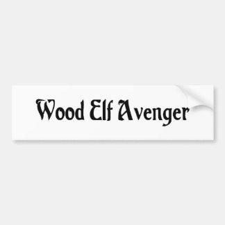Wood Elf Avenger Bumper Sticker