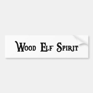 Wood Elf Spirit Sticker