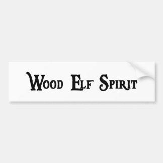 Wood Elf Spirit Sticker