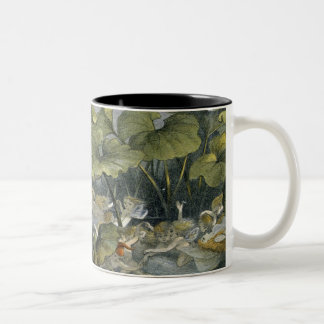 Wood Elves at Play, illustration from 'In Fairylan Two-Tone Coffee Mug