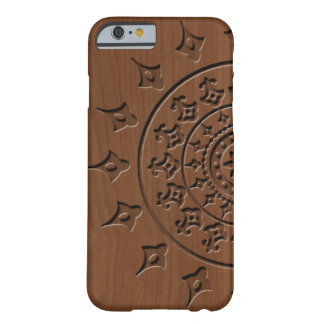 Wood Embossed Mandella Barely There iPhone 6 Case