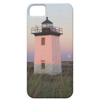 Wood End Lighthouse Cape Cod Moonrise iPhone 5 Cases