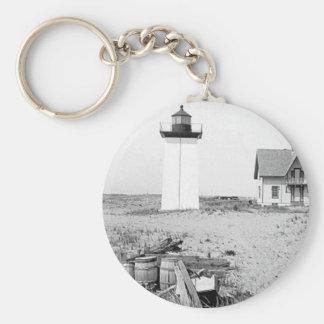 Wood End Lighthouse Keychain