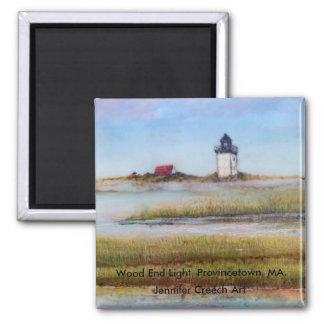 Wood End Lighthouse Magnet