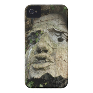 Wood Face iPhone 4 Case