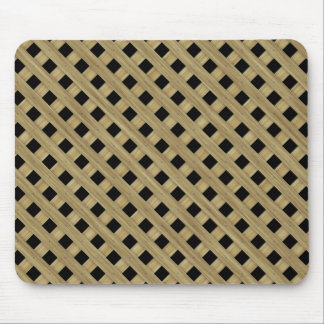 Wood fence mouse pad